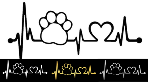Dog Paw Heartbeat